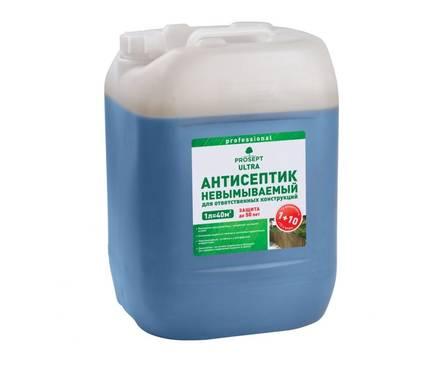 Антисептик Просепт ECO ULTRA невымываемый для ответственных конструкций 10л