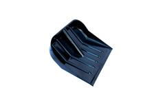 Лопата для снега из поликарбоната 450х390 мм, диаметр черенка 32 мм, черная
