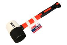 Киянка резиновая USP комбинированная, фиберглассовая ручка, 0.45 кг