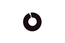 Обвод для труб 1/2 дюйма Венге черный