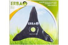 Нож для триммера EBRA металлический 3 зуба, 250х3.0х25.4 мм