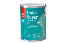 Лак алкидно-уретановый Tikkurila Unica Super 20 полуматовый, яхтный, износостойкий (0.9 л)