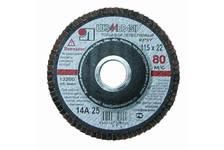 Круг лепестковый абразивный для шлифования, 125 х 22мм, зерно P120 BIZON STANDARN FDA
