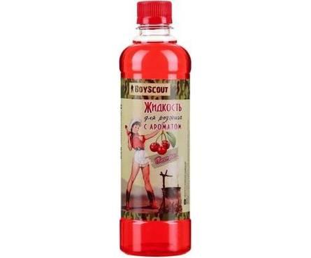 Жидкость для розжига 0,5 л парафиновая Вишневая BOYSCOUT