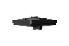 Бак для душа Aquatech 120 л, с выходом под ТЭН, 950х950х305 мм (черный)