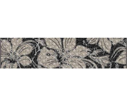 Фабрицио черный бордюр 250х60 (1 уп. 20 шт) 1 сорт Фотография_0