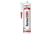 Герметик KIM TEC Termo 1200°С, силиконовый, термостойкий, черный, 310 мл