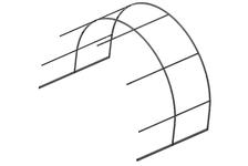 Удлинение к теплице Урожай Элит, 2 м