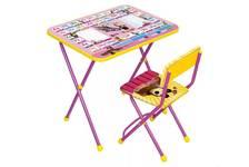 Мебель детская Познайка (стол+стул ) Азбука 3 :Маша и медведь КП2/3 НИКА