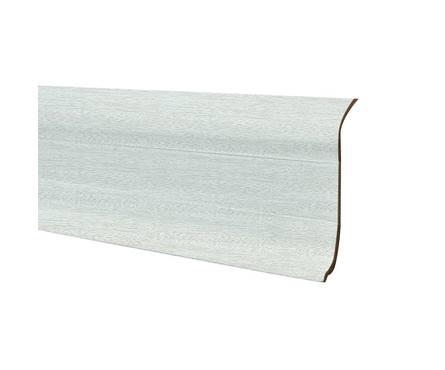 Плинтус К55 2,5м Идеал Комфорт Ясень белый / 252