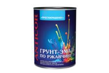 Грунт- эмаль Empils ПРОСТОКРАШЕНО по ржавчине, синий, 0,9 кг
