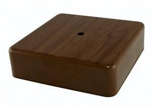 Коробка распределительная 100х100х44 ОП бук IP40, TDM Фотография_0