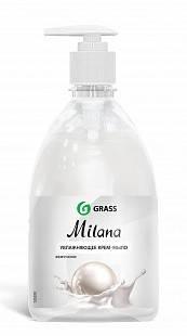 Жидкое крем-мыло с дозатором Milana 0,5л (жемчужное) GRASS