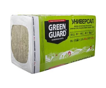 Утеплитель Минвата Greenguard Универсал (ТН) 1200х600х50 (5,76 м2/0,288 м3) 8 плит Фотография_0