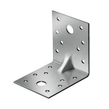 Крепежный уголок оцинкованный усиленный KUU 90х50х55х2мм Фотография_0
