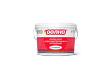 Краска ВД Волна интерьерная влагостойкая супербелая W103, 6 кг