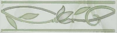 София зеленая бордюр тюльпан 200х57 (1 уп. 20 шт) 1 сорт Фотография_0