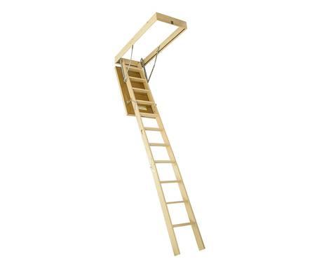 Чердачная лестница Деке DSS 60*120*280 см Фотография_0