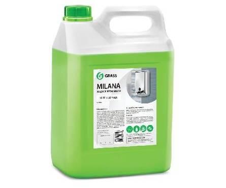 Жидкое крем-мыло Milana 5л (зеленый чай) GRASS