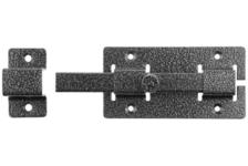 Задвижка накладная ЗД-06 для дверей 15х145х15 мм 60х145 мм