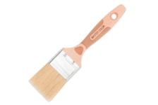 Кисть флейцевая Master Color ширина 30 мм, толщина 14.4 мм, смешанная щетина, буковая ручка