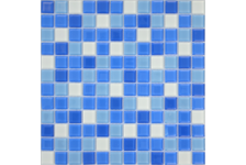 Мозаика Caramelle Mosaic Acquarelle Iris 298х298х4 мм, чип 23х23 мм