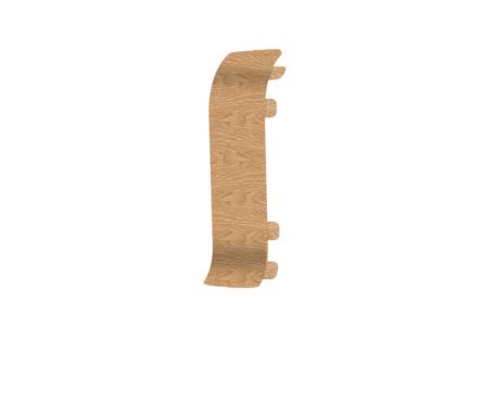 Угол для плинтуса Е67 Идеал Элит Дуб светлый/ 212 соединительный