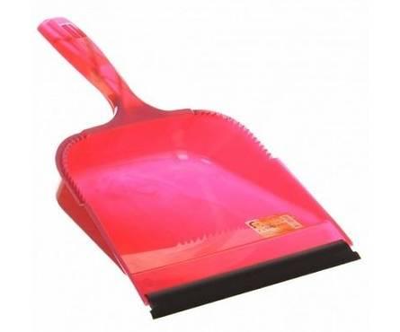 Совок для мусора с кромкой София красный/аметист SV3101