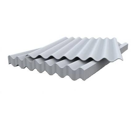 Шифер лист СВ 40/150-1750х1130 (5,2мм) 8в (112) 24 кг
