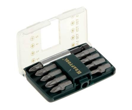 Набор KRAFTOOL EXPERT MINI - 2 Биты с магнитным адаптером в мини бит-боксе, 10 предметов