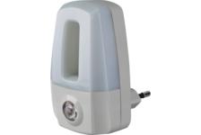 Ночник светодиодный Navigator NNL-SNR02-WH, 0,5W, фотореле, белый