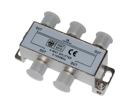 Делитель-4 ТВ Rexant под F разъем  5-1000 MHz  Фотография_0