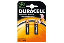 Элемент питания DURACELL LR03 ААА (1 уп./2шт)