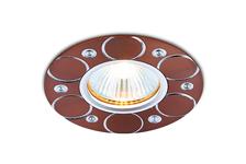 Светильник Ambrella light A808 AL/BR MR16 алюминий/коричневый