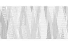 Декор Belani Эклипс 250х500 мм,  светло-серый
