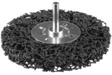 Щетка дисковая д/дрели ЗУБР нейлон проволока с абраз покр, с открытой агрессивной структурой, 63мм