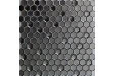 Мозаика Caramelle Mosaic Alchimia Argento Grani Hexagon 300х300х6 мм