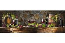 Фартук для кухни ХДФ 2070*695*3мм 1,44м2/шт цв Элит винный погребок