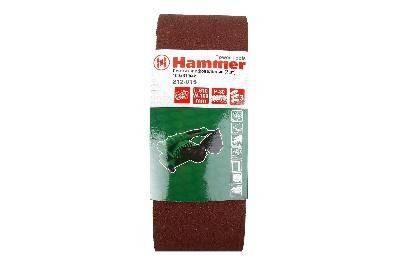 Лента шлифовальная Hammer Flex 212-015 100 Х 610 Р 80 3 шт