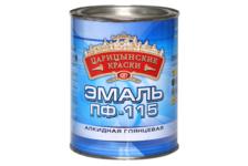 Эмаль Царицынские краски ПФ-115 красная 1,9 кг