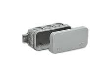 Коробка распределительная Ruvinil Тусо 43х80х35 мм, IP54,  8-ми кабельный ввод