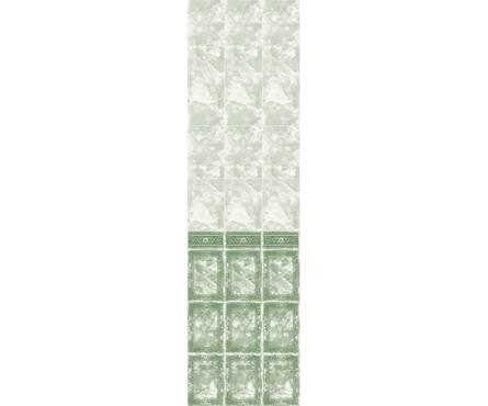 ПВХ Панель Фриз 2700*250*9мм Барон Зеленый 102
