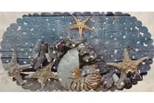 Коврик FOVERO SPA FOTOPRINT Морской, матовый галька, ПВХ 67х36 см