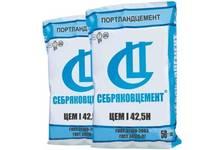 Цемент Себряковцемент (М-500 Д-0) ЦЕМ I/42,5 Н, 50 кг