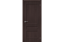 Дверь Bravo ЭКО Симпл-14, Wenge Veralinga, 200*80 см