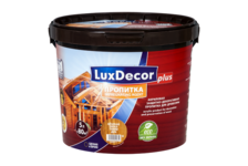 Пропитка для дерева акриловая LUXDECOR PLUS 1л (Белый)