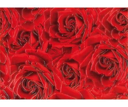 Плитка керамическая Березакерамика Престиж Роза красный декор 250х350 Фотография_0