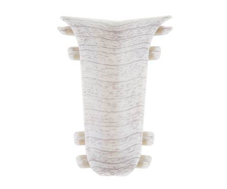 Угол для плинтуса Е67 Идеал Элит Дуб снежный /215 внутренний