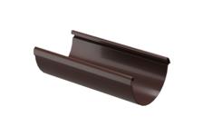 Желоб водосточный Дёке LUX (шоколад) 3 м
