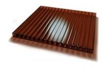 Поликарбонат сотовый SKYGLASS 6000 / 2100 / 6 мм, коричневый